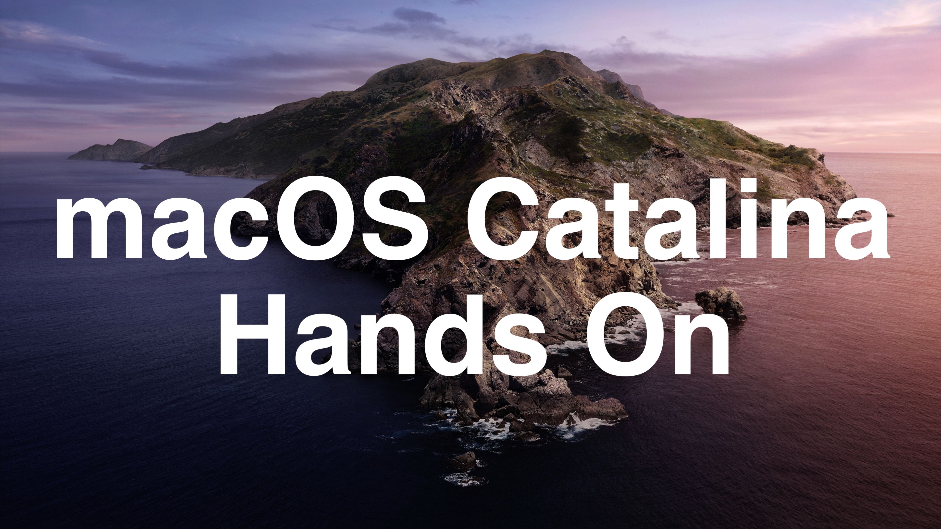 Hands-On With macOS Catalina - MacRumors