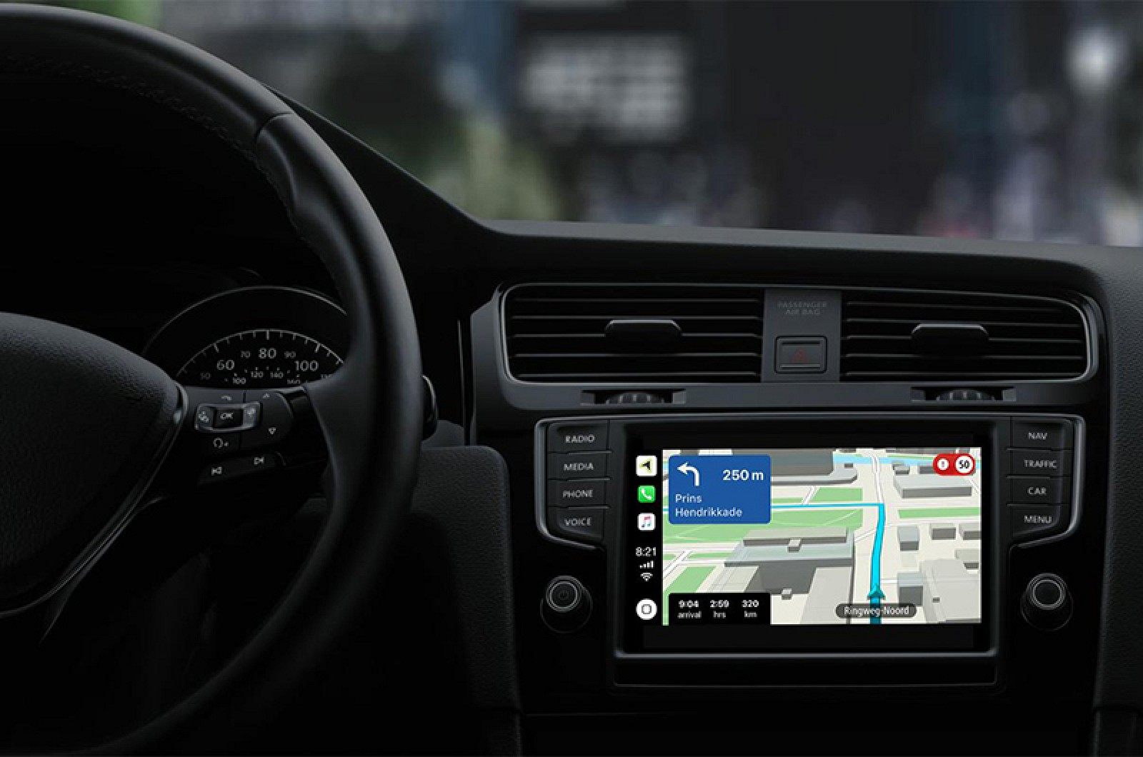 Tomtom Revamps Iphone App With Carplay Support Lane Guidance