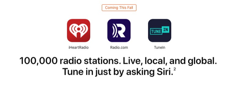 iOS 13 Siri Live Radio Feature Already Working for Some