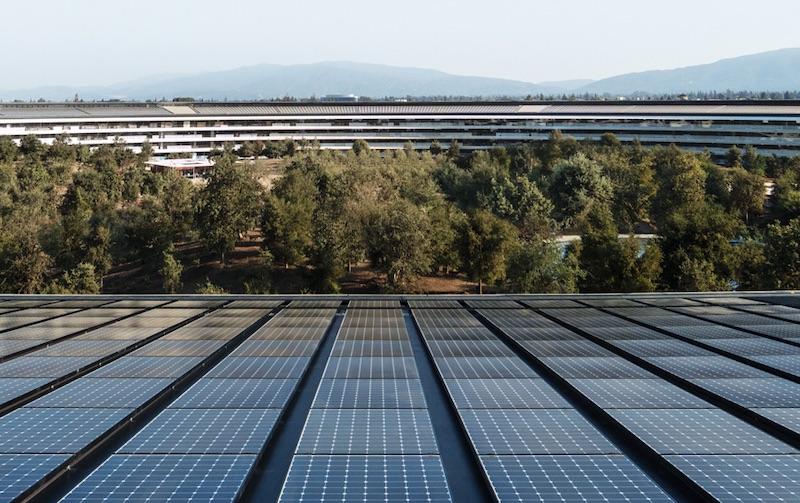 Apple Leads All U.S. Companies in Domestic Solar Energy Capacity