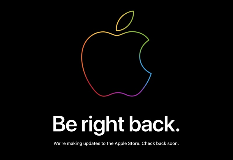 Apple's Online Store Goes Down Ahead of Today's iPhone Event