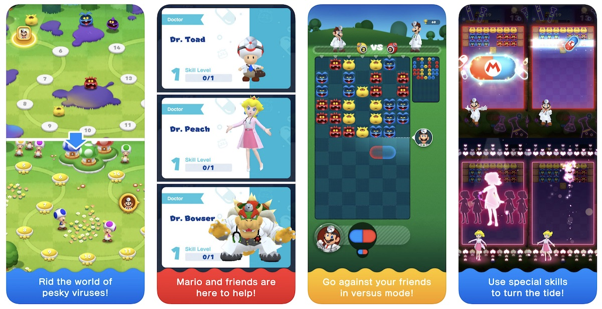 Nintendo's Latest Mobile Game 'Dr  Mario World' Launches on iOS App