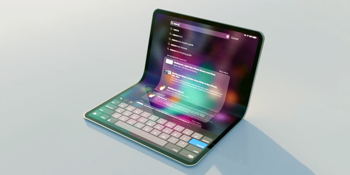 Image result for Apple foldable iPad