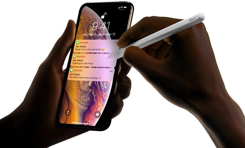 Analysts Predict Apple Pencil Support for 2019 iPhones