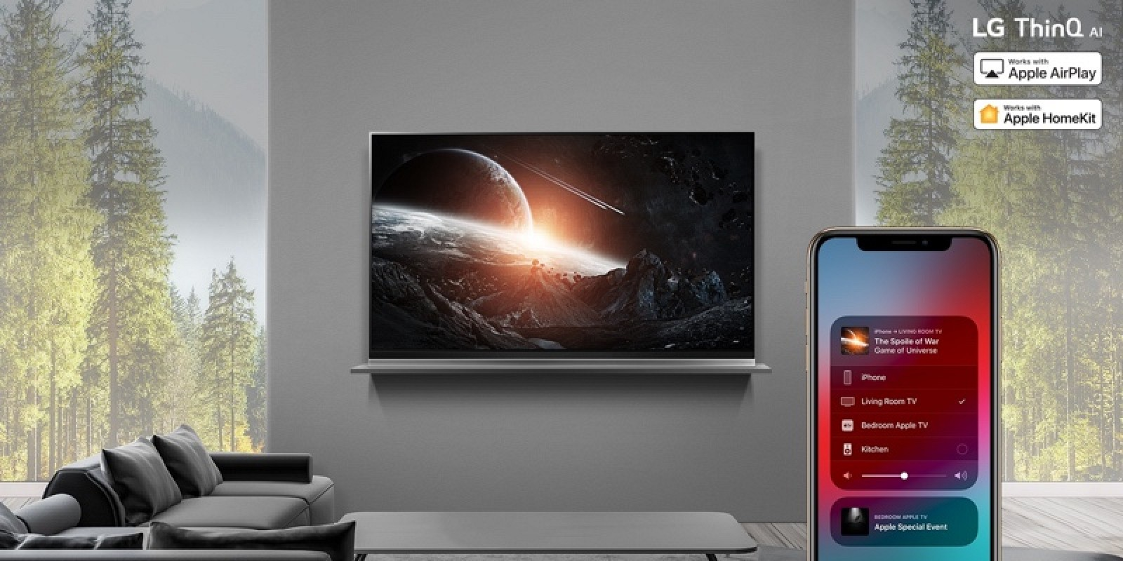 HomeKit and AirPlay 2 Rolling Out to 2019 LG ThinQ TVs Starting