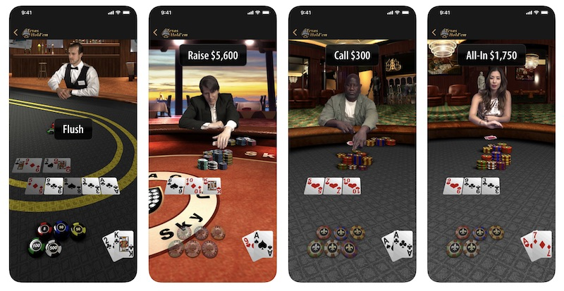 Apple Relaunches 'Texas Hold'Em' Game to Celebrate 10th Anniversary of App Store