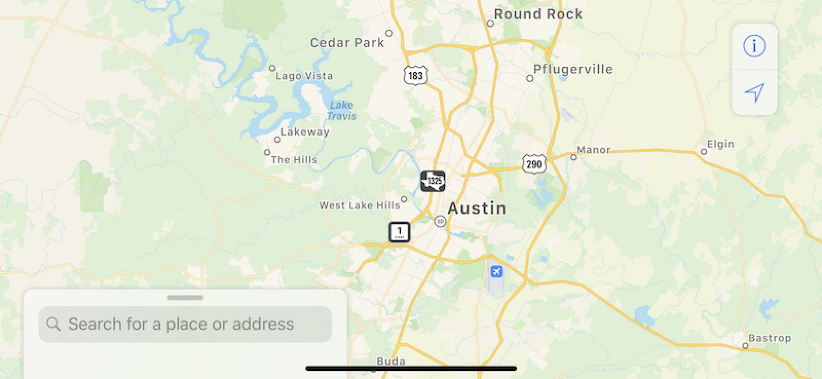 Revamped Apple Maps Now Available in Texas, Louisiana, and Southern
