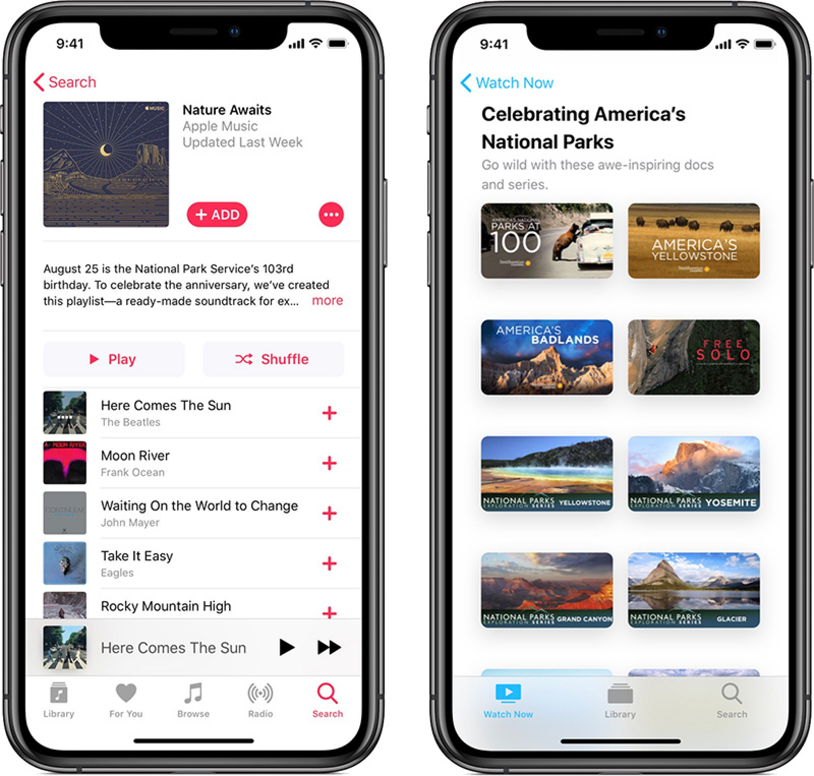 Apple Celebrating National Parks in August With Donations, Apple Watch Challenge, Apple Music Collections and More
