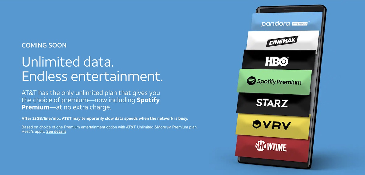 AT&T Unlimited &More Premium Subscribers Can Get FREE Spotify Premium - EDMTunes