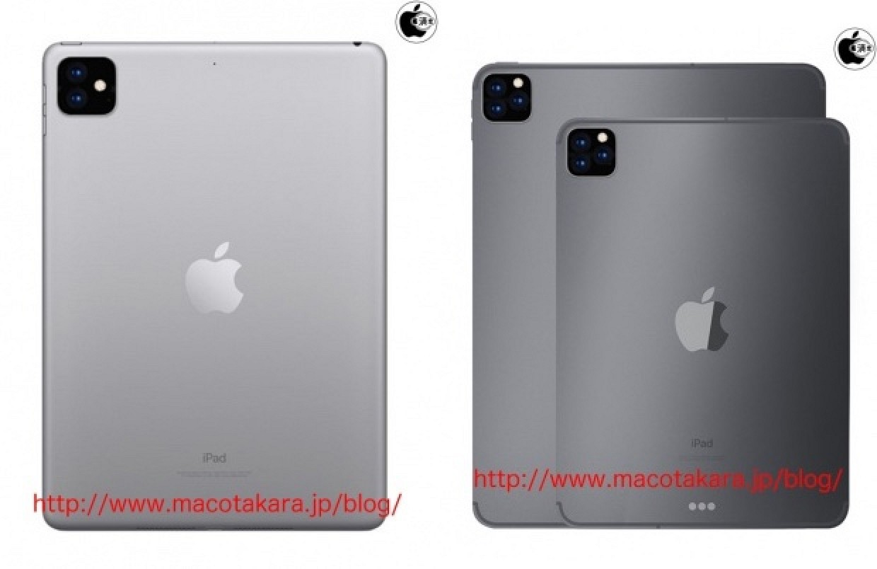 photo of Triple-Lens Rear Cameras Rumored for Next iPad Pro Range, Dual-Lens for New Entry-Level iPad image