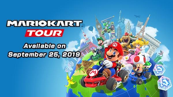 Nintendo's 'Mario Kart Tour' Game for iOS Launching on