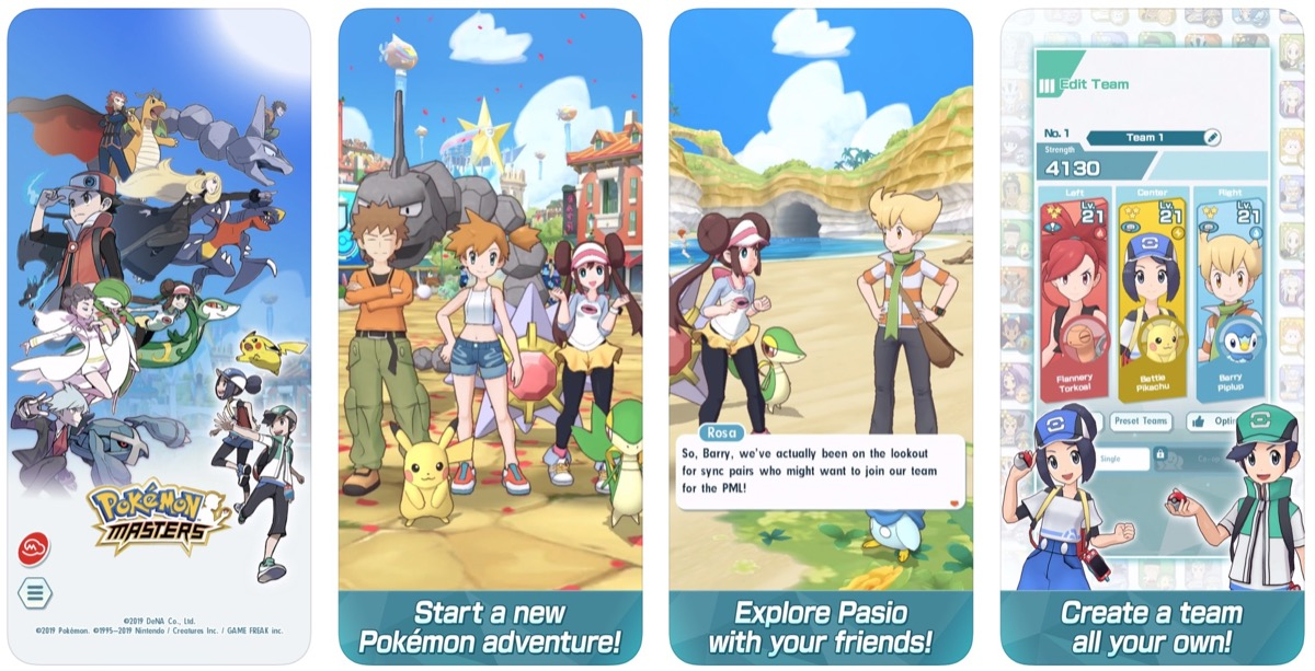 Pokémon Masters' Now Available for iPhone and iPad - MacRumors