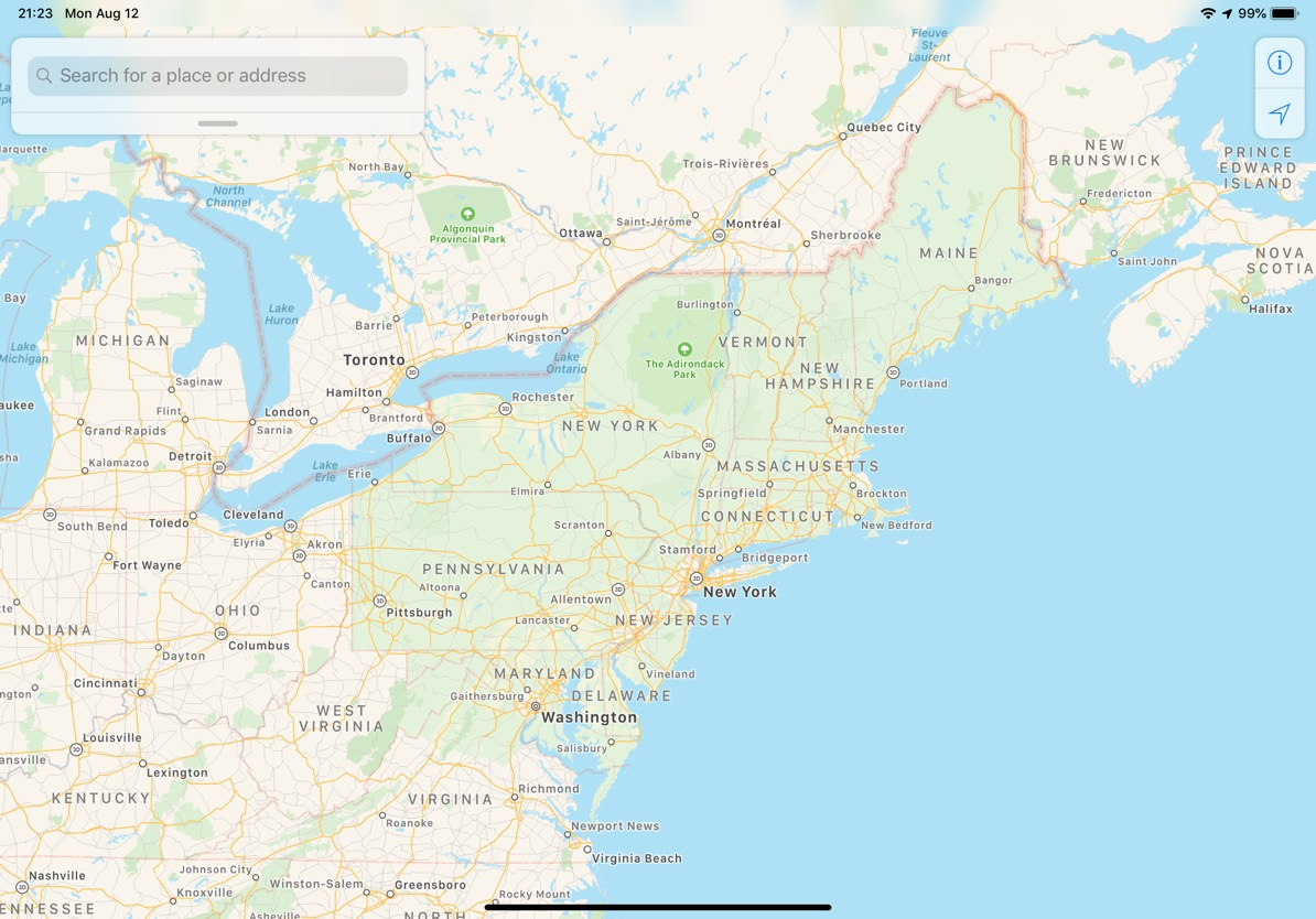 Revamped Apple Maps Rollout Extends to Northeast U.S. - MacRumors on arctic us map, continental usa, indian us map, national us map, usa map, continental shelf map, us continent map, european us map, interactive us state map, baseball us map, malaria in the us map, mid south us map, us metropolitan map, british us map, united states map, hudson us map, georgia map, mexico map, chinese us map, irish us map,