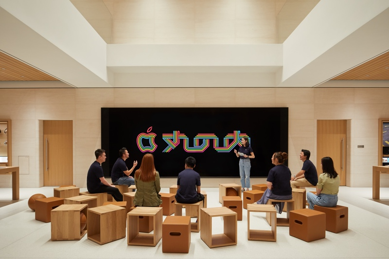 Apple's New Marunouchi Store Opening Saturday, September 7 in Tokyo