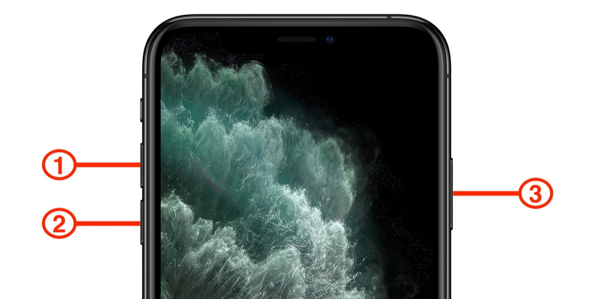 Image result for How To Force Restart iPhone 11 PRO MAX