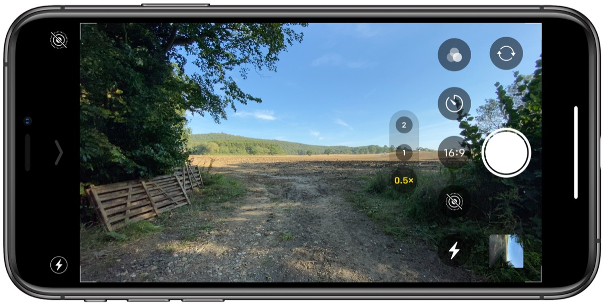 How To Select Camera Aspect Ratio On Iphone 11 And Iphone 11