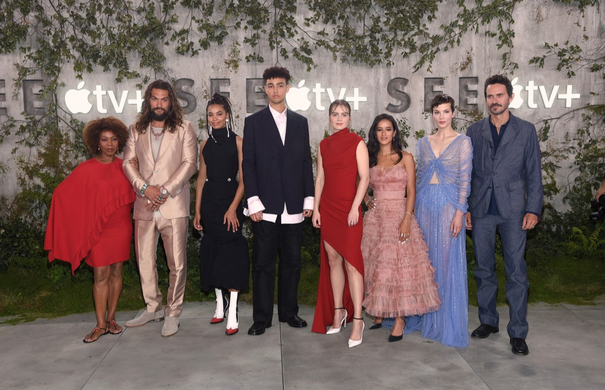 photo of Apple's Futuristic Thriller 'See' Premieres in California Ahead of Apple TV+ Launch image