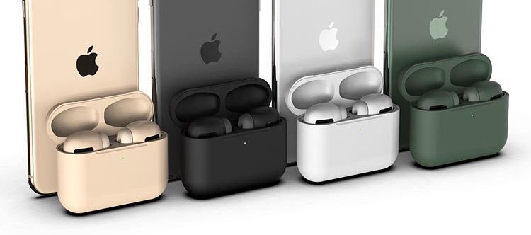 AirPods Pro to Feature New Colors, Including Black and