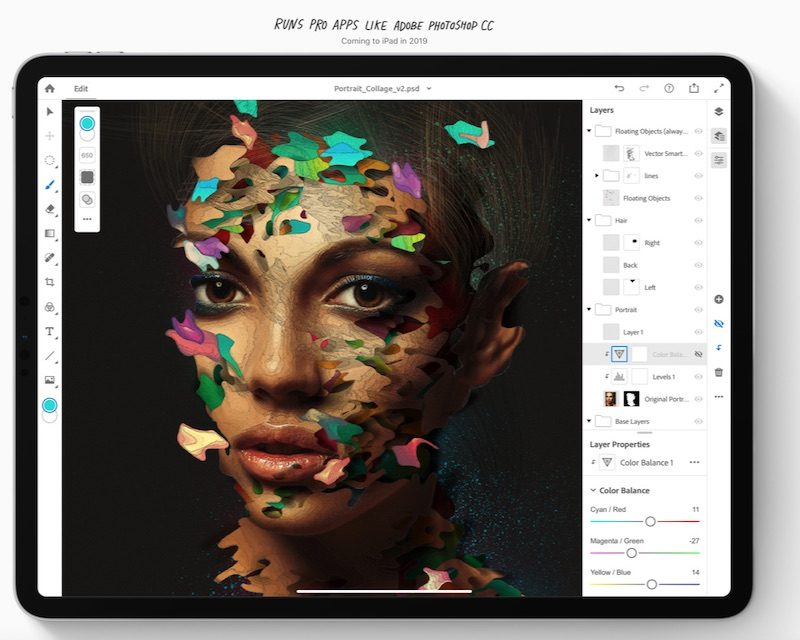Adobe 'All-In' on Photoshop for iPad, Illustrator for iPad Coming Next Year