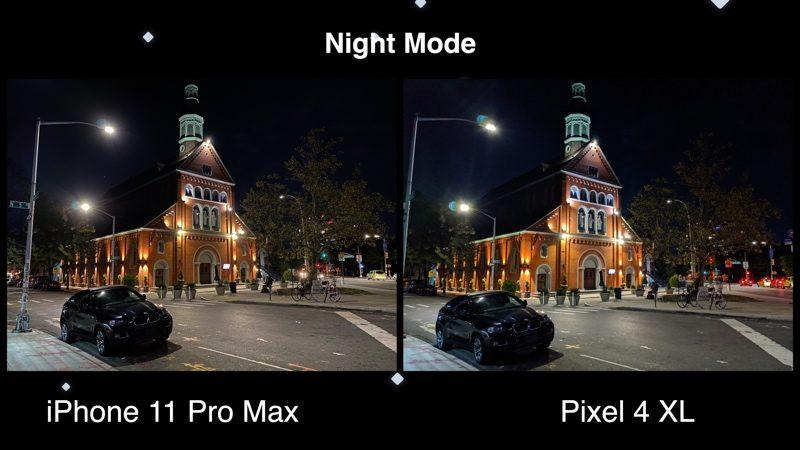 Camera Comparison Google Pixel 4XL vs. iPhone 11 Pro Max