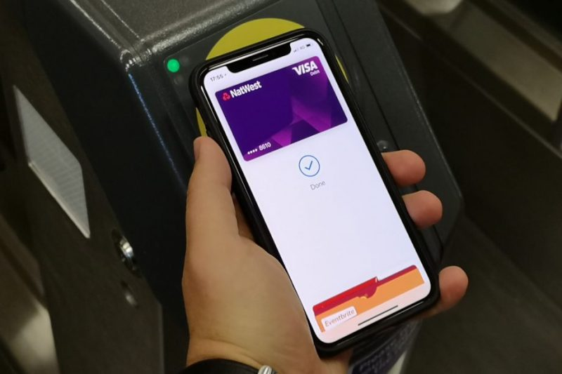Apple Pay's Express Transit Mode Working in Parts of London