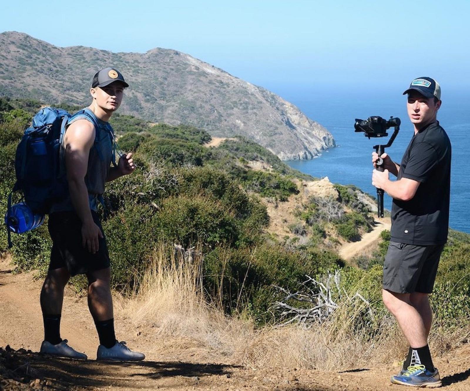 Trio of Friends Make Challenging Hike Across Catalina Island to Recreate the macOS Catalina Wallpaper - MacRumors