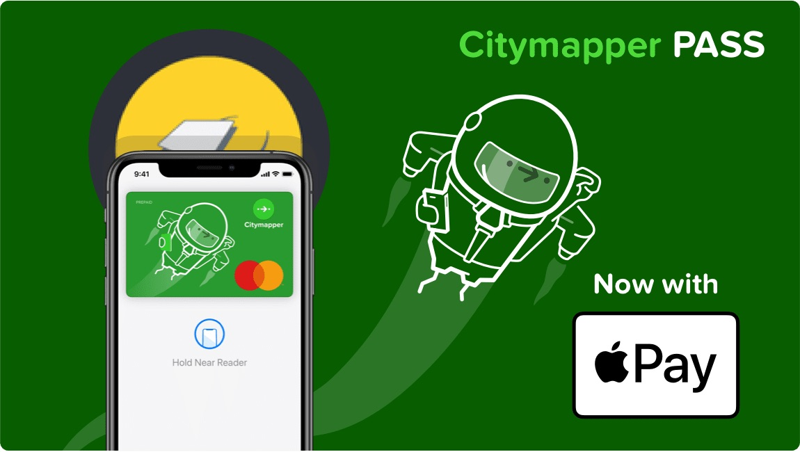 Apple Pay Now Available in Belarus, Citymapper Pass Adds