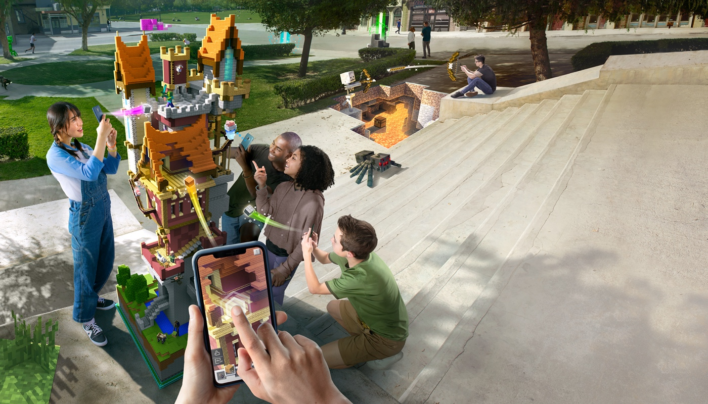 photo of Minecraft Earth Early Access Launches on iOS in the United States image