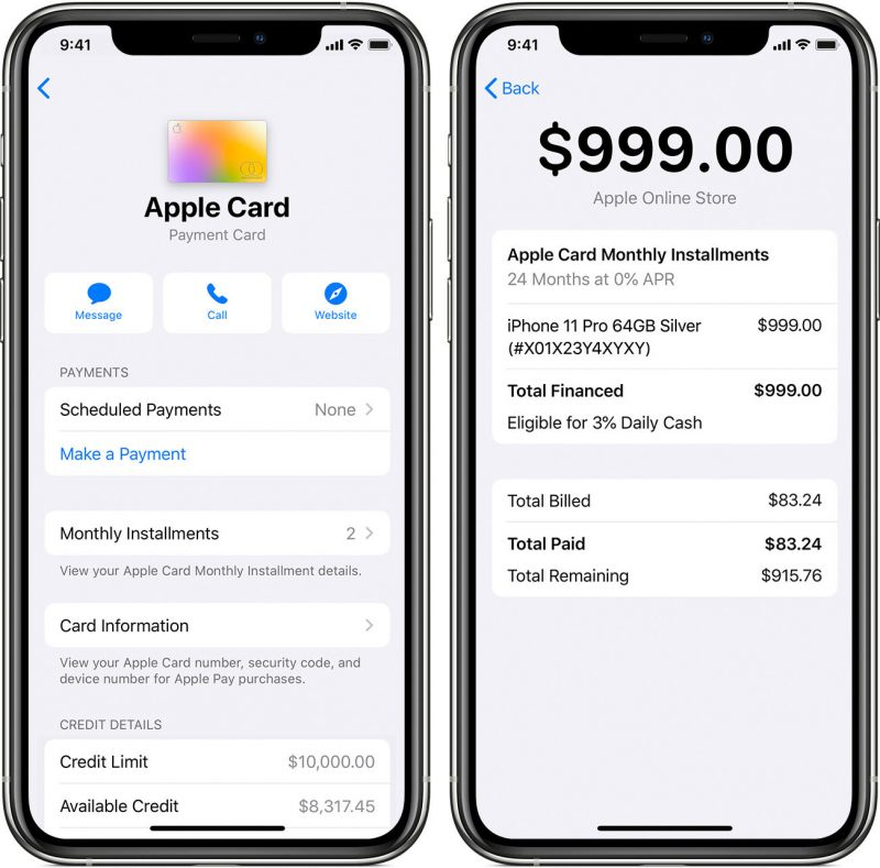 Apple Card Offers 6% Back on Eligible Apple Purchases Through 2019
