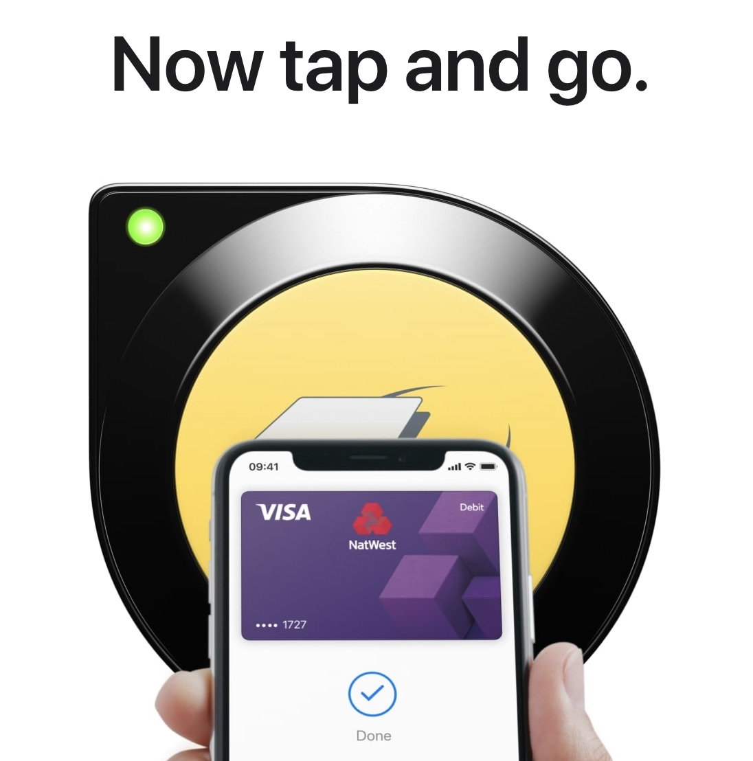 photo of Apple Pay's Tap-and-Go Express Transit Mode Now Live in London, Advertised on MetroCards in NYC image