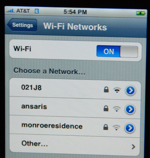 how to connect iphone 4s to 5ghz network