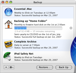 how to back up a mac
