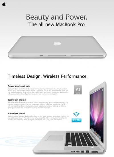 Leaked' MacBook Pro Ad is Just a Mockup - MacRumors