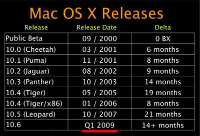 Need to Download Mac OS X Snow Leopard or Leopard? ADC Has It