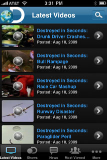 Discovery Channel App Hits App Store - MacRumors