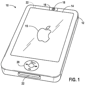 Apple Patent Applications: Front-Facing Camera Depicted on