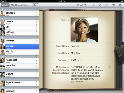 Filemaker 39 s bento personal database app to launch for ipad for Bento database templates