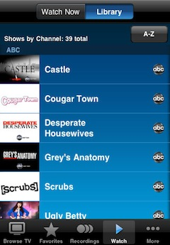 Revamped AT&T App Allows U-Verse Subscribers to Download Select TV