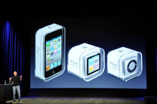 Apple Announces All-New iPod Models: Shuffle, Nano and ...