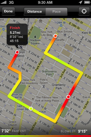 Nike GPS App Comes To The App Store Mac Rumors - Running map distance tracker