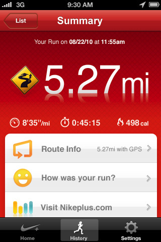 Nike Gps App Comes To The App Store Macrumors