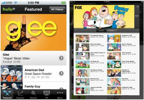 Hulu Updates 'Hulu Plus' iOS App, Lowers Subscription ...