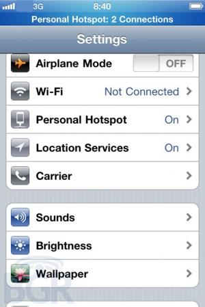 carrier settings update iphone ios 4 3 to bring mobile hotspots to gsm iphones pending 2034