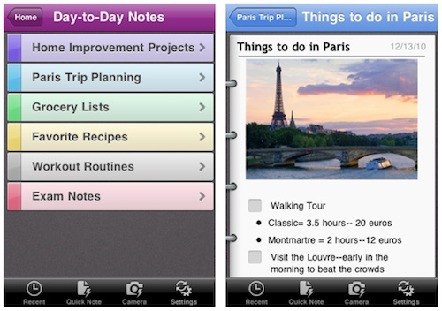 latest version of onenote for ipad