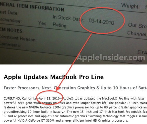 Best Buy Guesses at a March MacBook Pro Release Date as Supplies ...