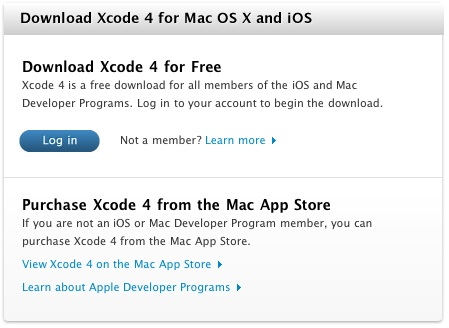 Apple Releases Xcode 4 to Developers, Coming Soon to Mac App