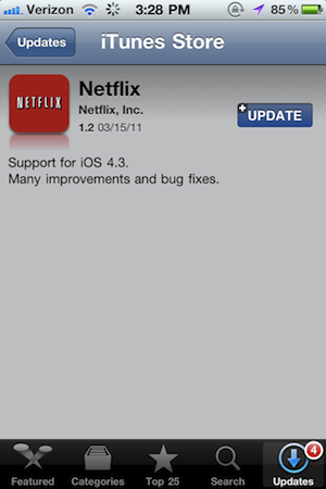 Apple Approves Netflix and Kindle Updates Despite New In-App