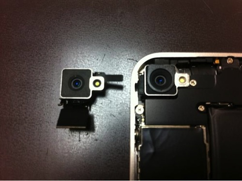 White iPhone 4: Modified Rear Camera, Reports of Thickness ...