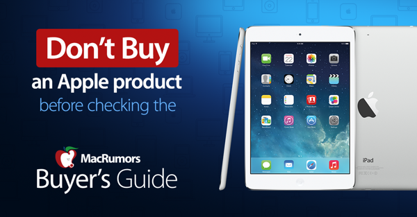 iphone ipad mac buyer s guide know when to buy rh buyersguide macrumors com RAM Timings Guide Good Timing Guide